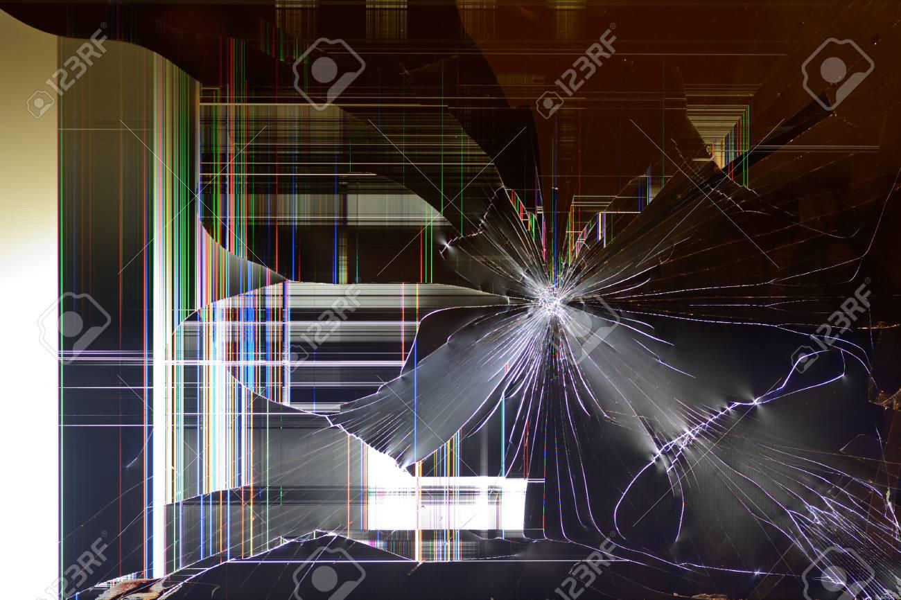 Fond D Un Ecran D Ordinateur Casse Banque D Images Et Photos Libres De Droits Image 62546960
