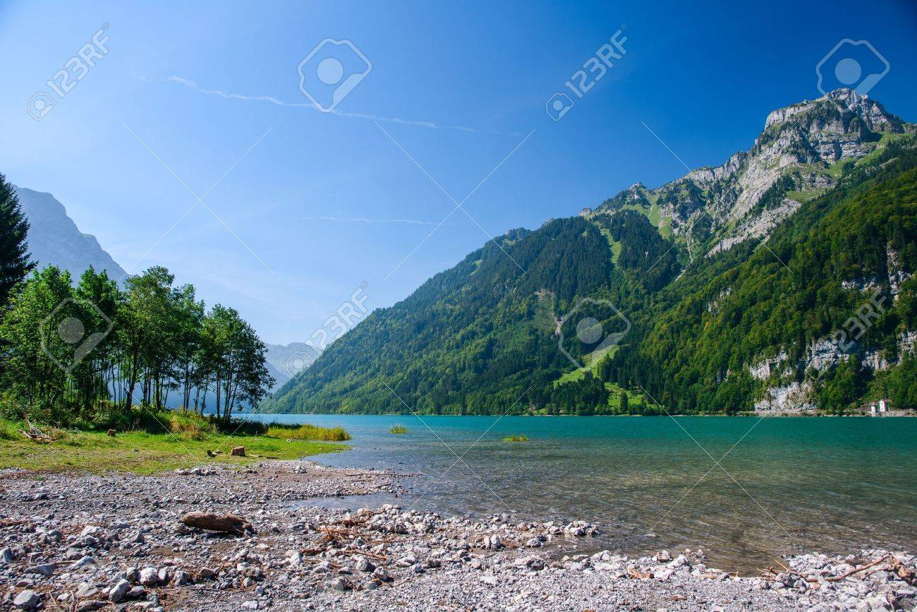 Kloental、グラールス州、スイス...