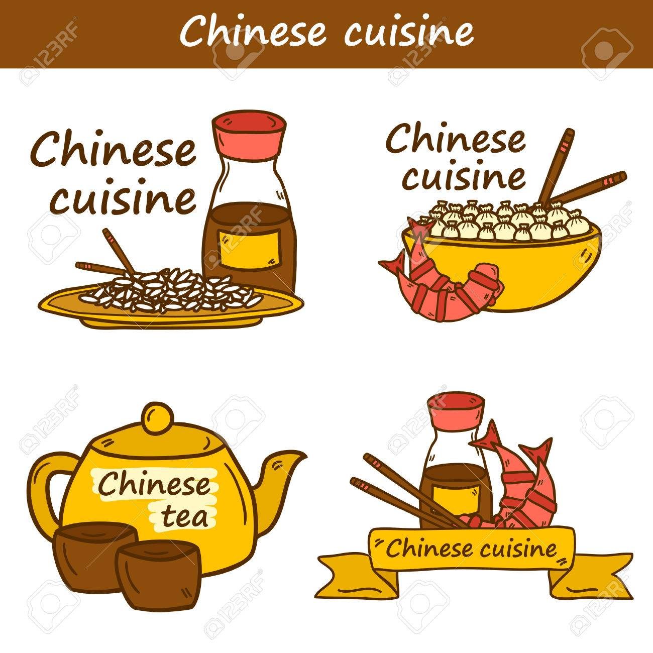 Cartoon chinese food icon Stock Photos and Images. 1,110 Cartoon ...