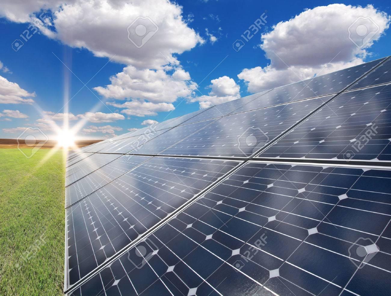 Power plant using renewable solar energy - 50335726