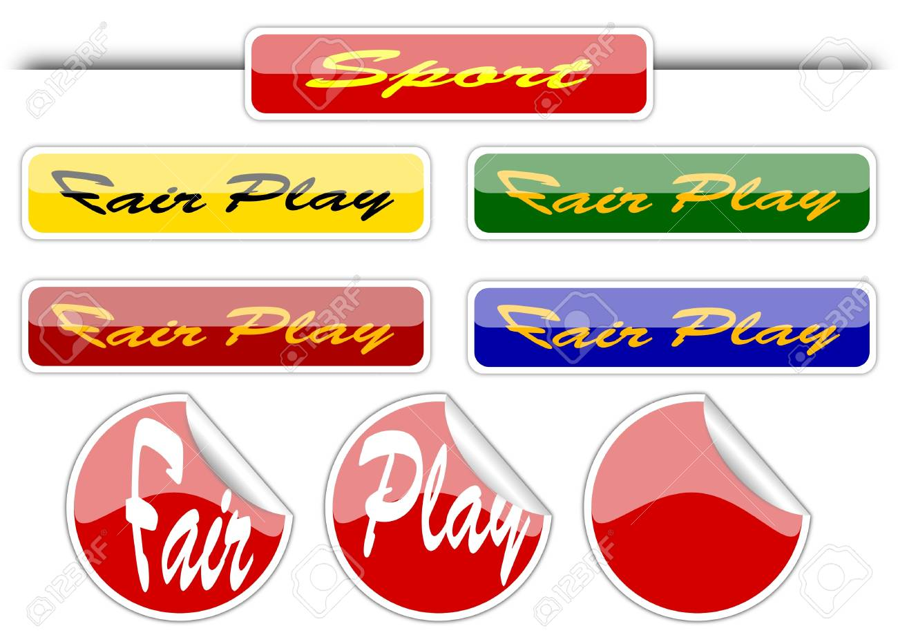 Sport -  fair plai - icons Stock Vector - 11878973