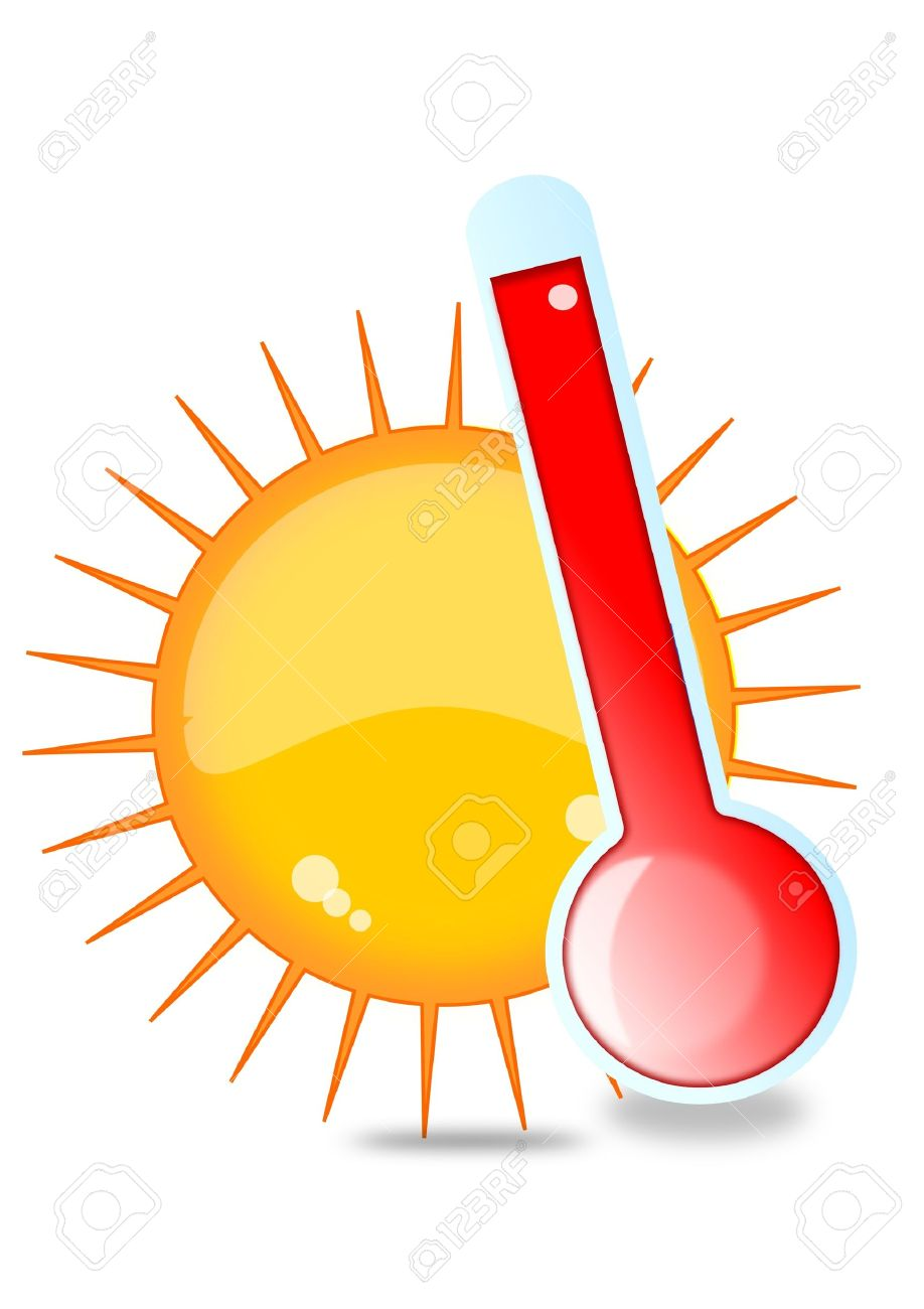 Sun and thermometer - 11958794