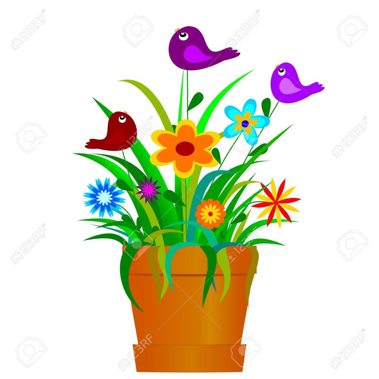 Flower Pot Clipart Png Clipart Potted p Flower Pot