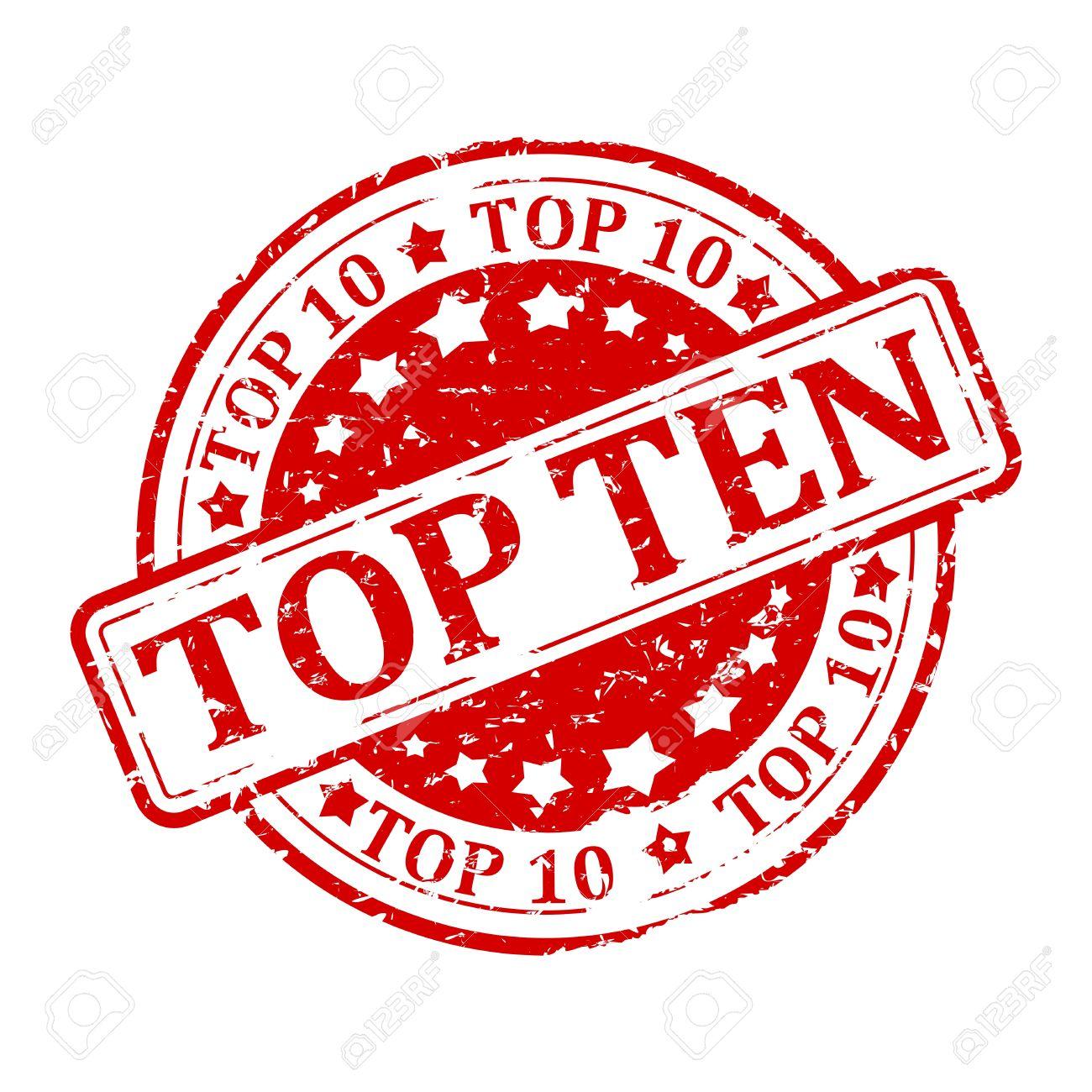 Risultati immagini per scritta top ten