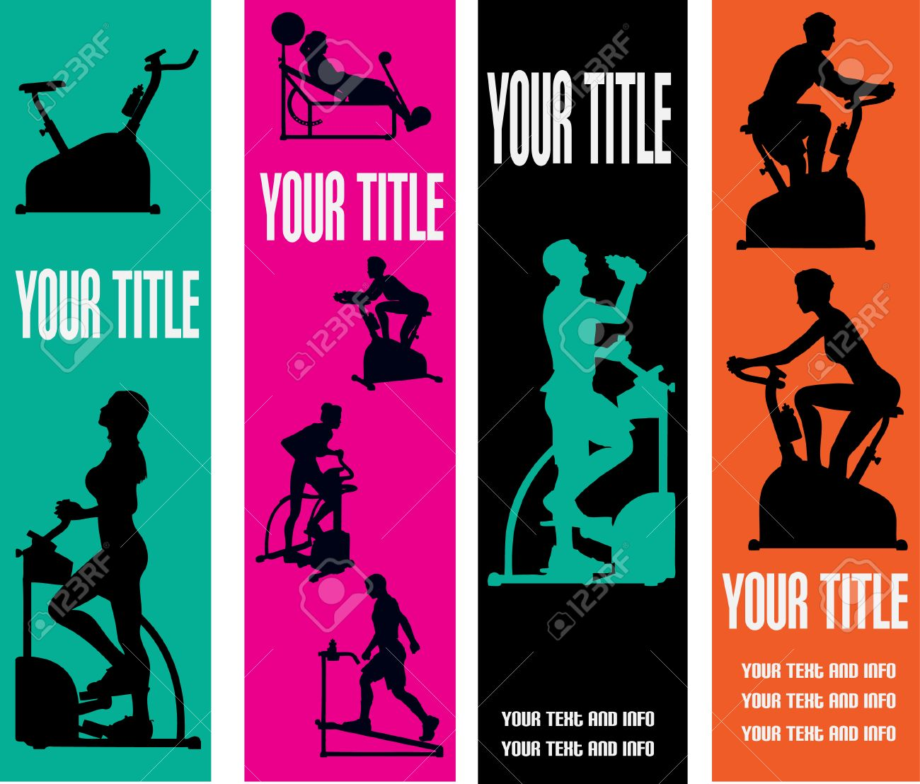 Exercise Web Banner Templates - 4503680
