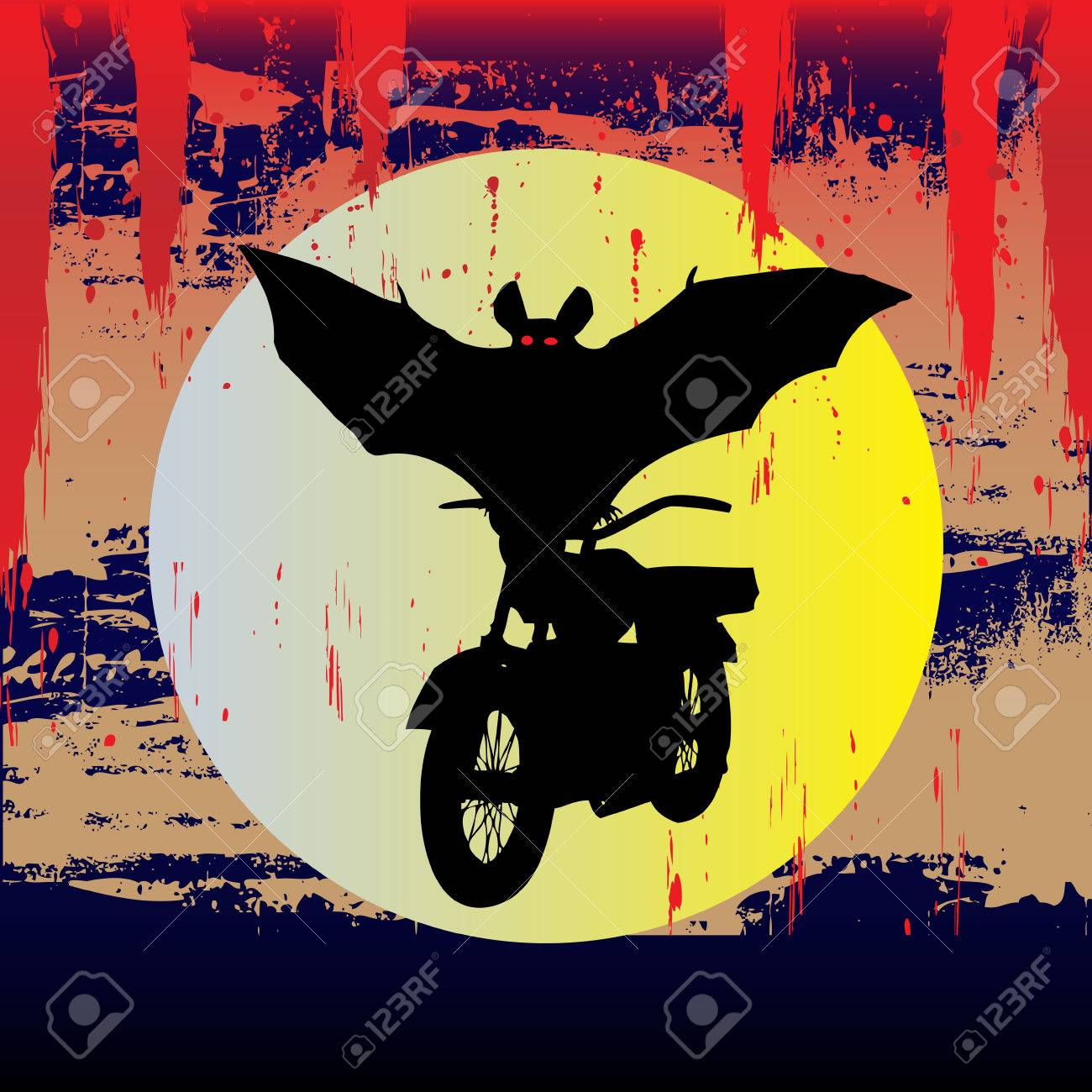 Bat Out Of Halloween Stock Vector - 5372890