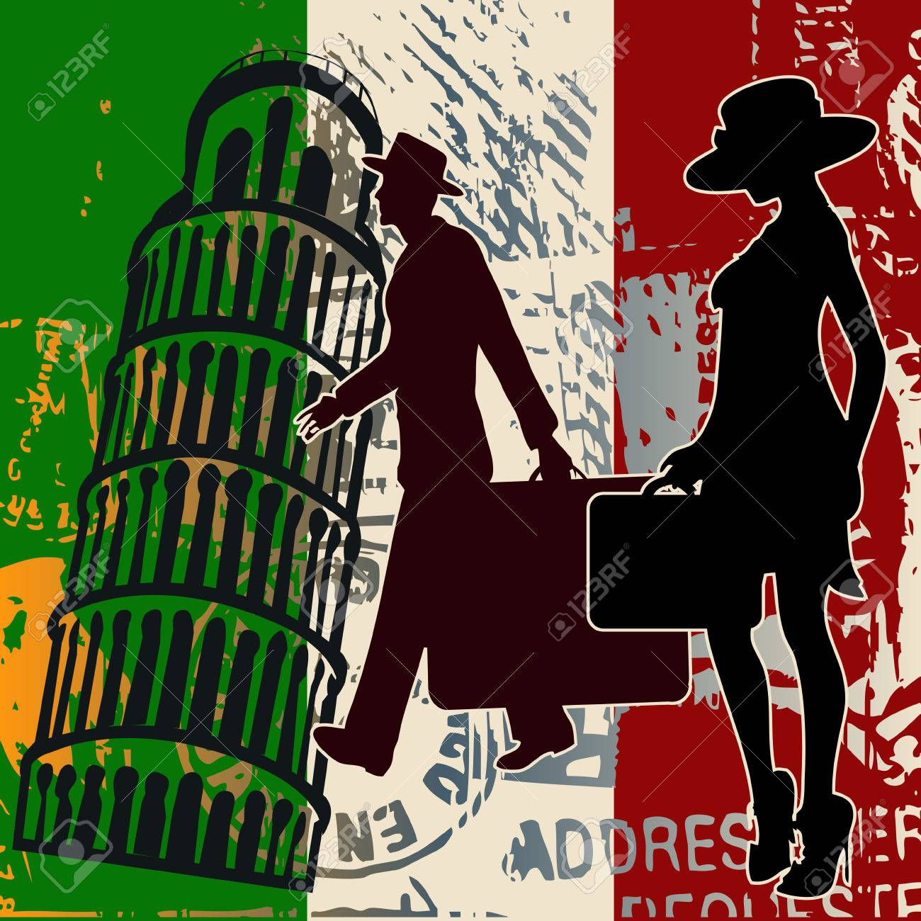 Italian Travel Stock Vector - 5736054