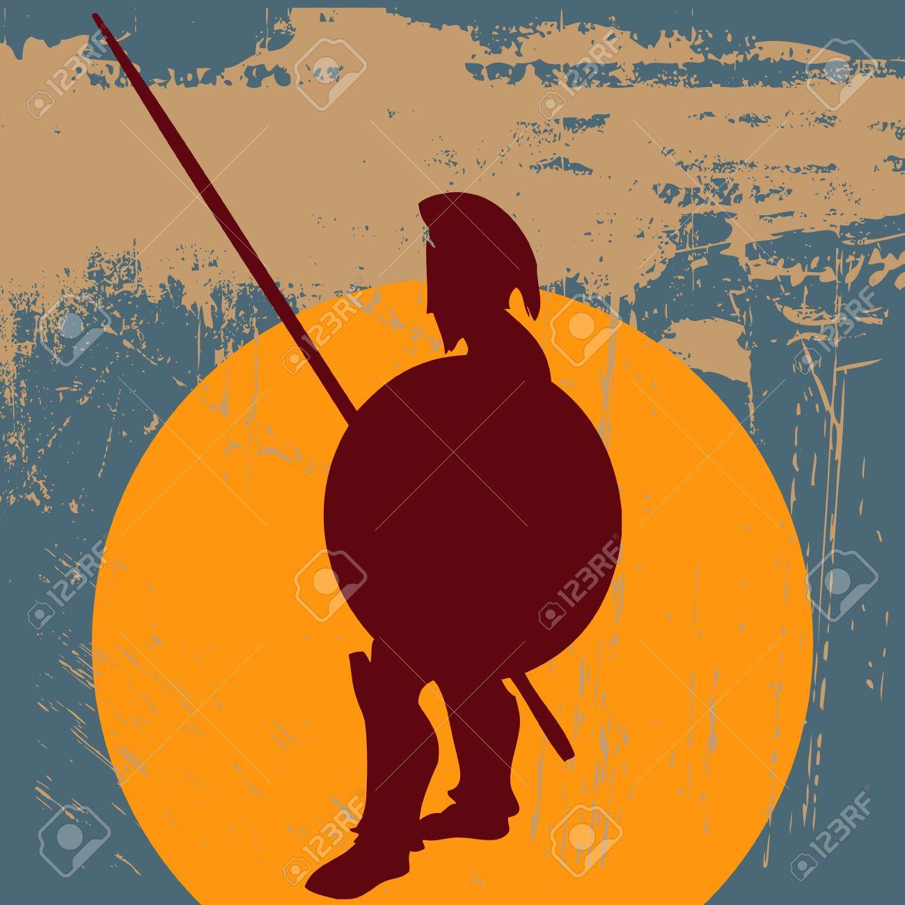 Hoplite Guard Stock Vector - 5836719