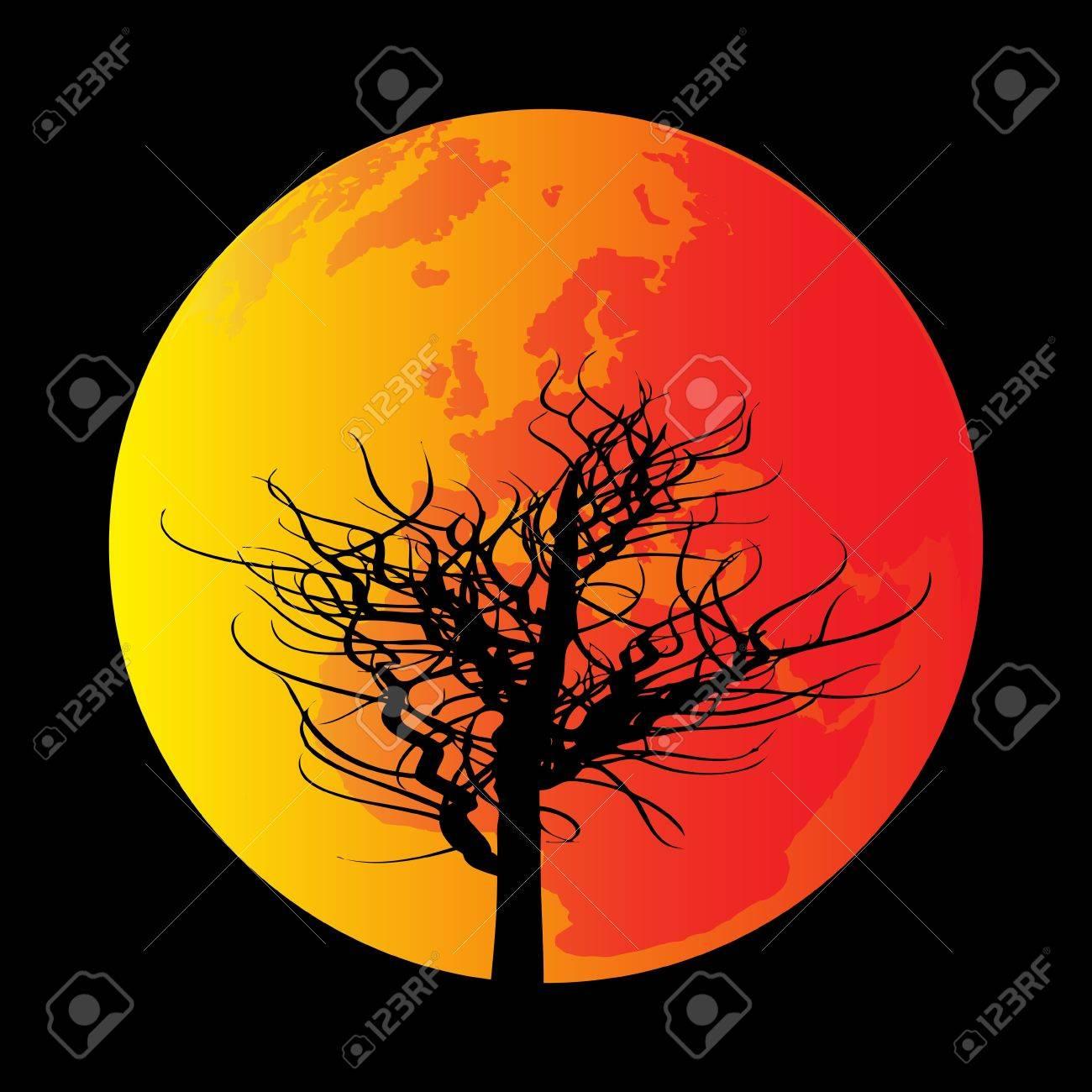 Global Warming Stock Vector - 9337018