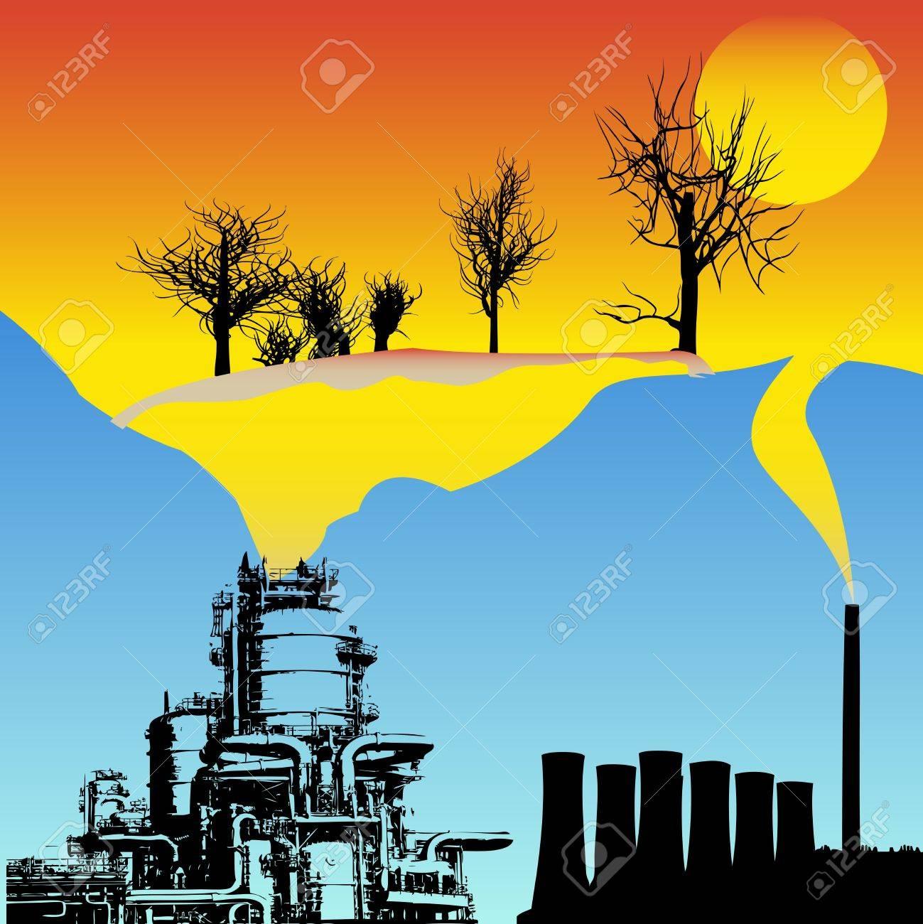 Global Warming Stock Vector - 10995184