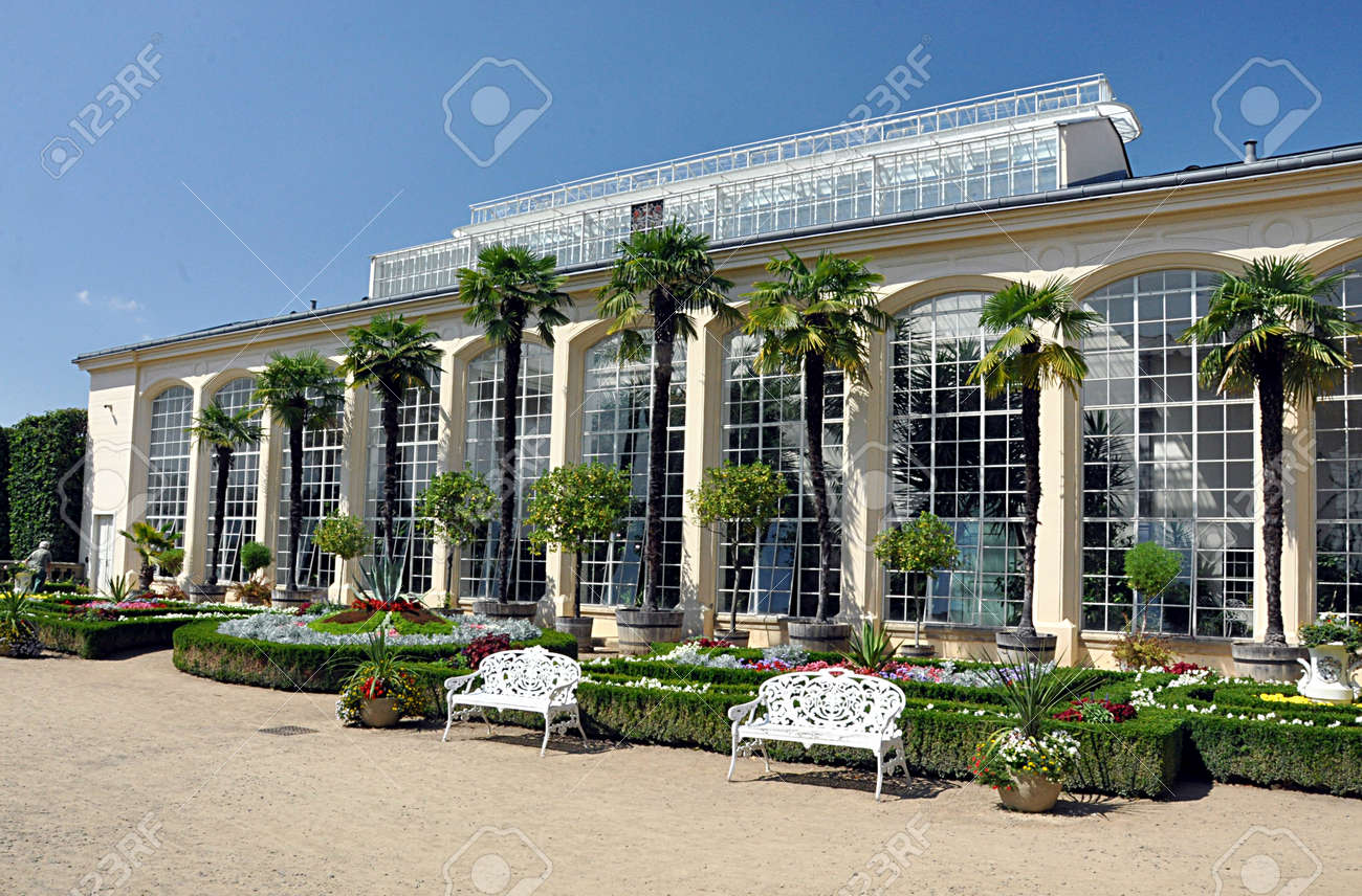 tropical greenhouse, city Kromeriz, Czech republic, Europe - 165600703