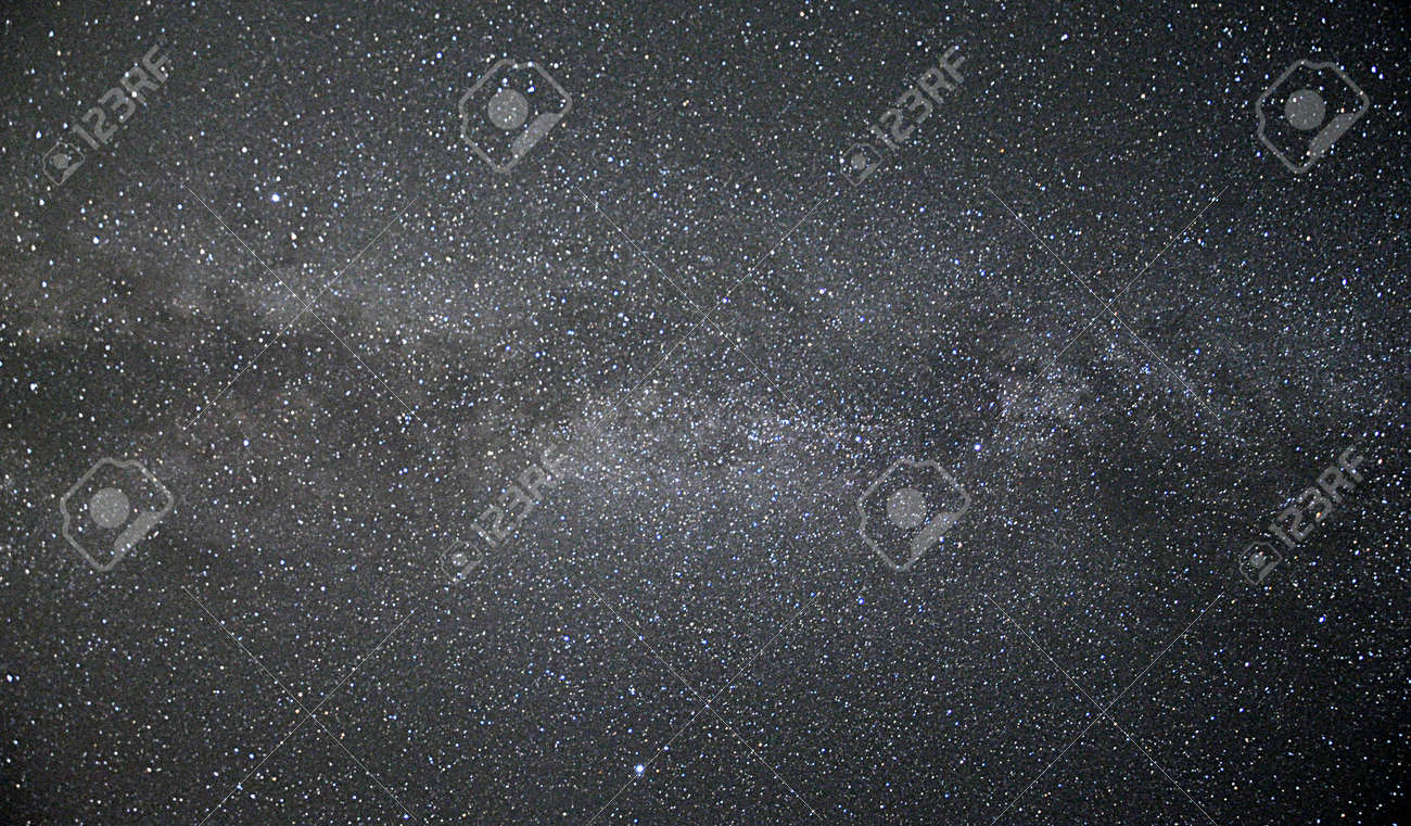 space and Milky Way - 166062980