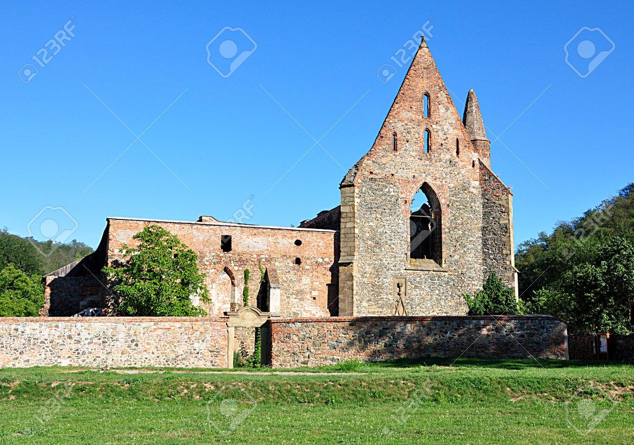 ruins monastery, village Dolni Kounice, Czech republic, Europe - 168116922