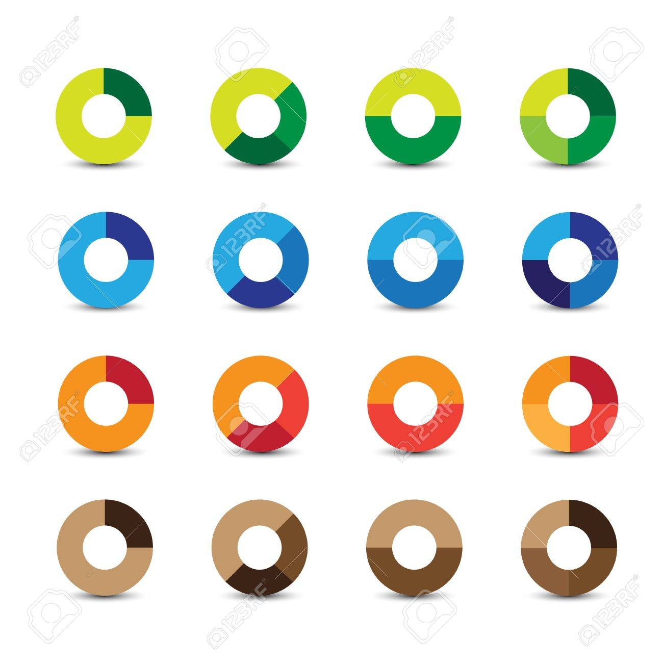 Abstract design elements circle Stock Vector - 18102423