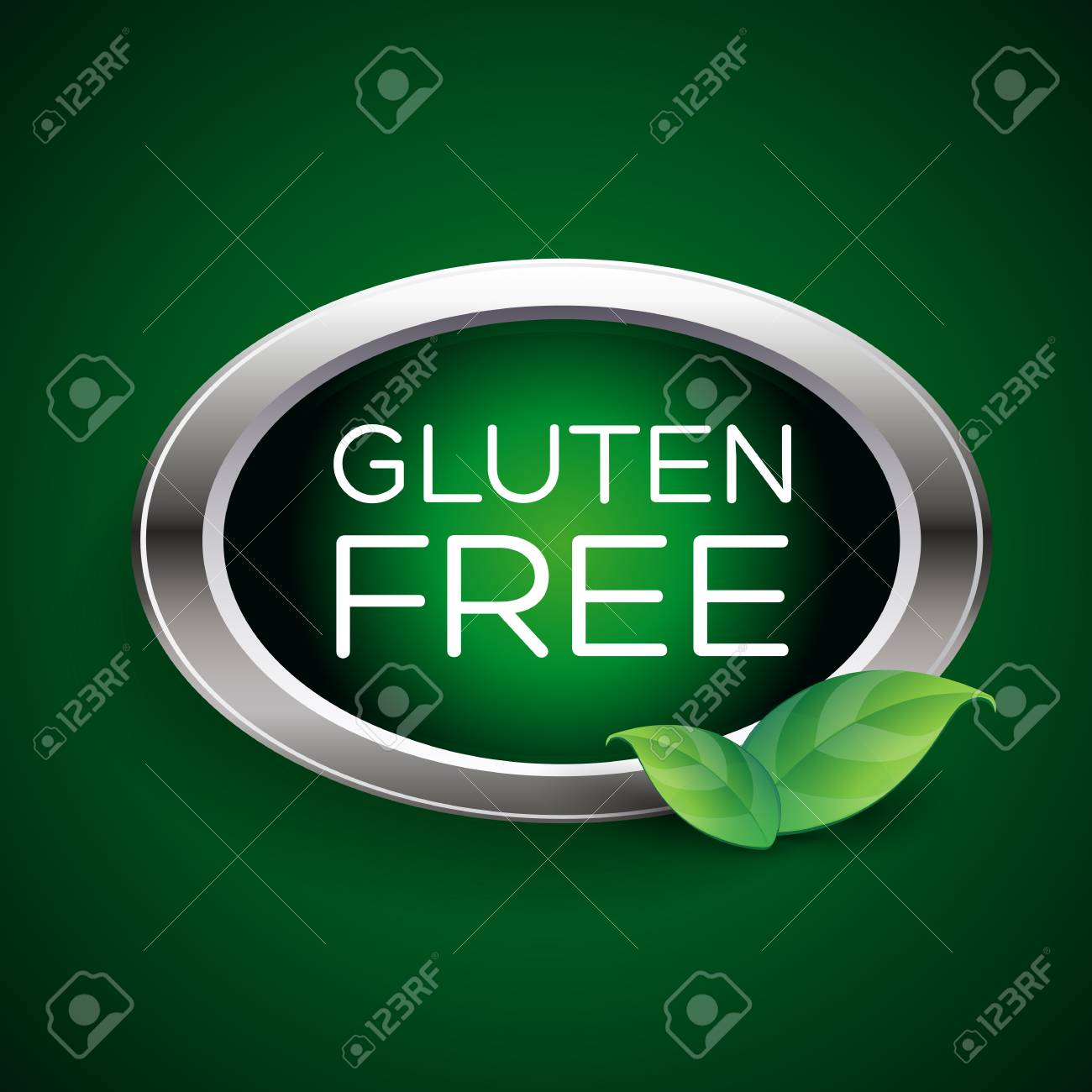 Gluten free label or badge - 37289550