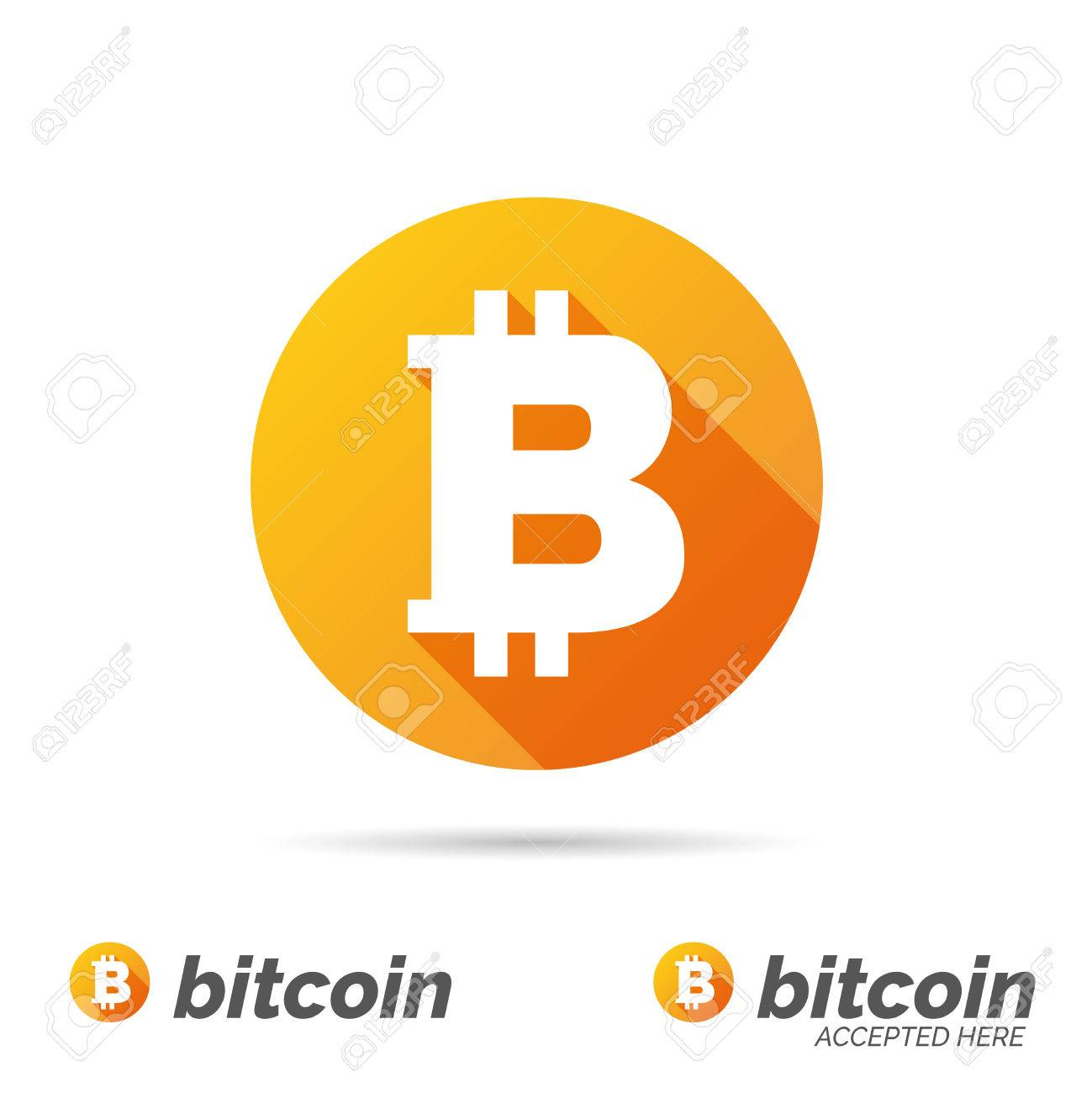 Bitcoin symbol - 42495003