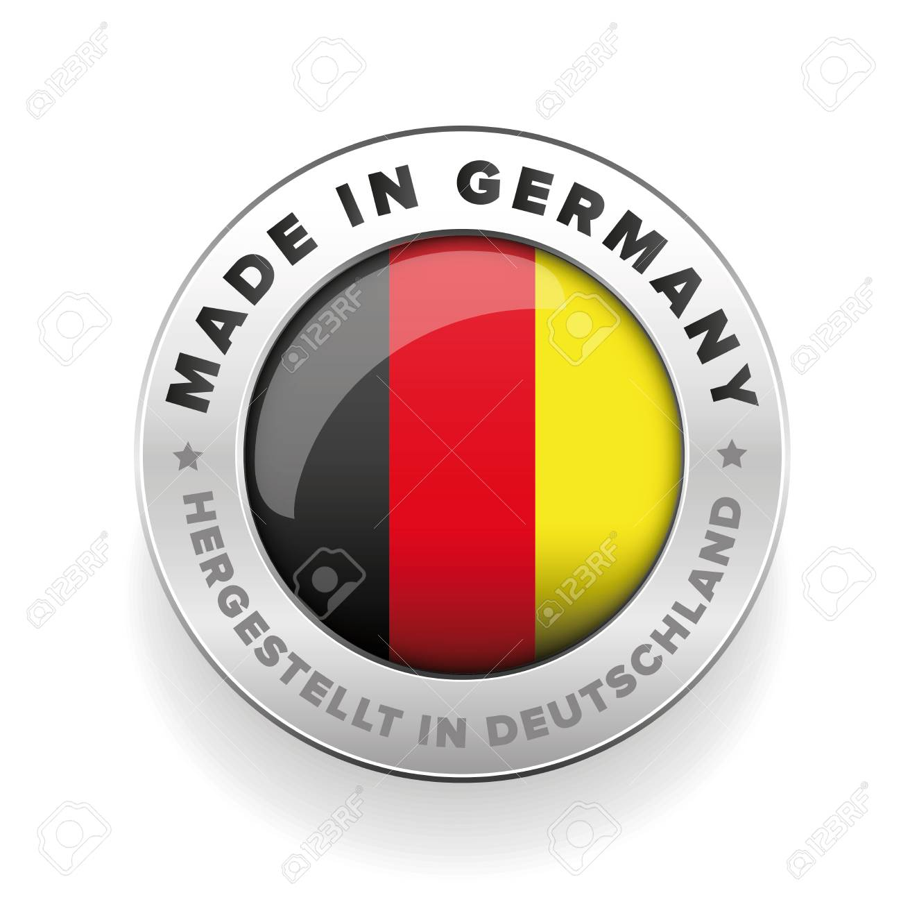 Made in Germany button vector - 59355612