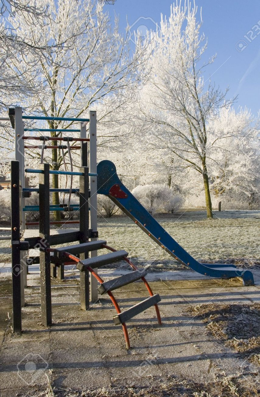 Abandoned Playground In The Winter Stock Photo Picture And Royalty Free Image Image 2281511