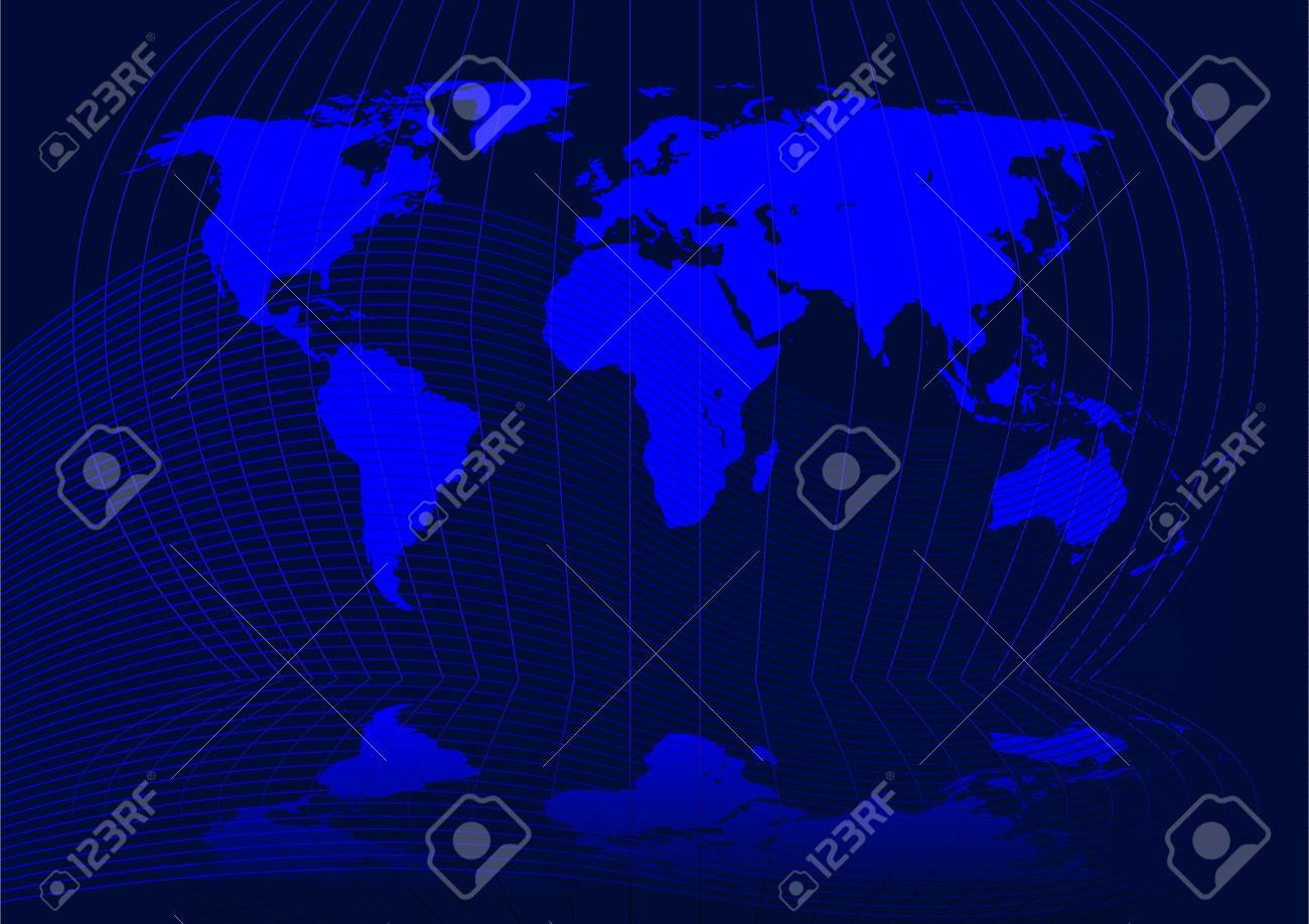 Abstract vector illustration of the world Stock Vector - 2464538