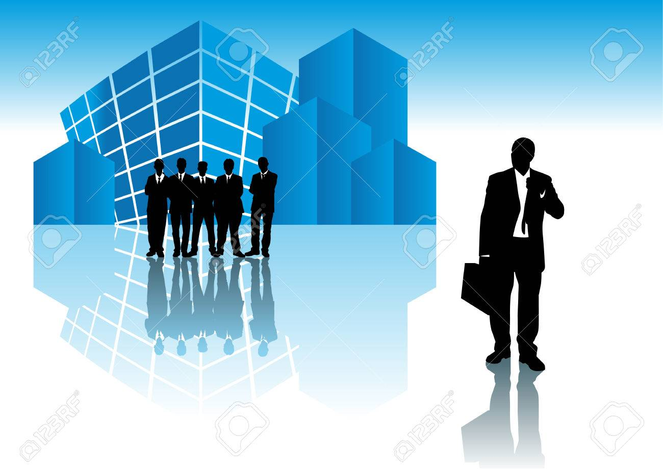 being fired stock photos images royalty being fired images being fired abstract vector illustration of a businessman being fired office building in the