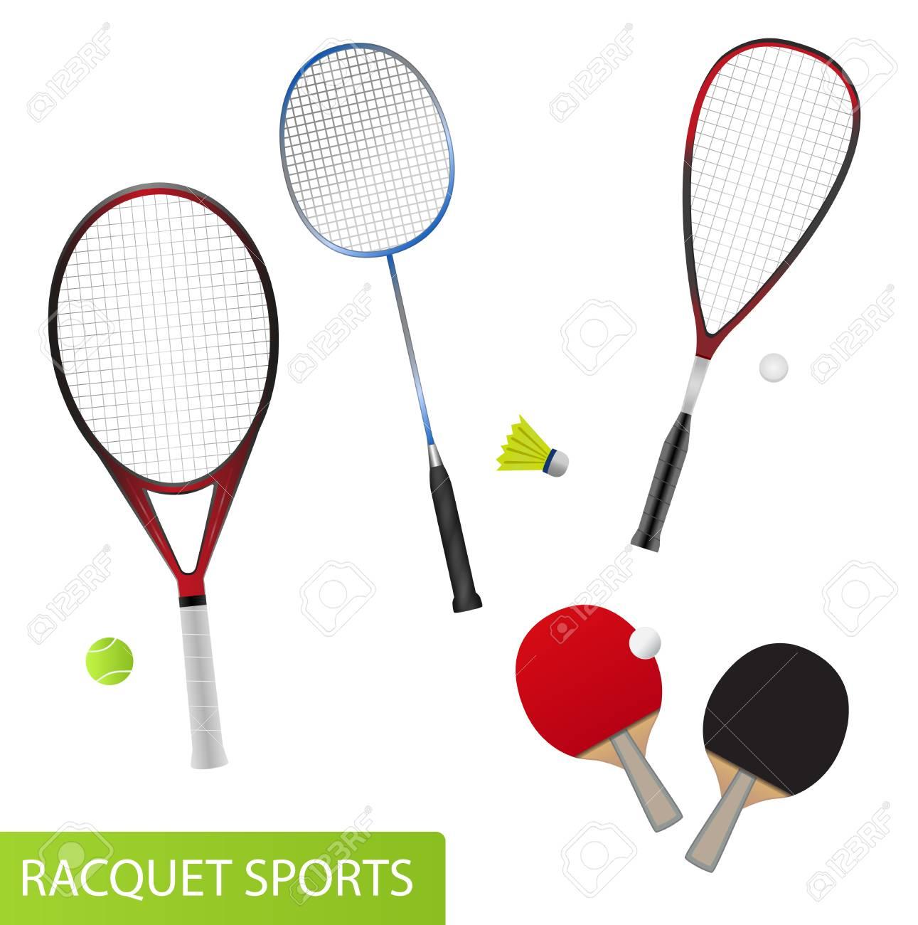 15616bd25fc32 Conjunto De Deportes De Raqueta  Equipos Para Tenis