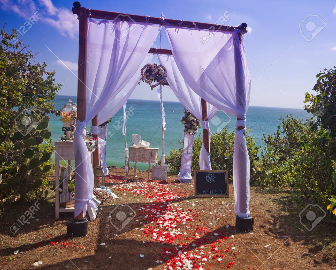 Arches de mariage de plage