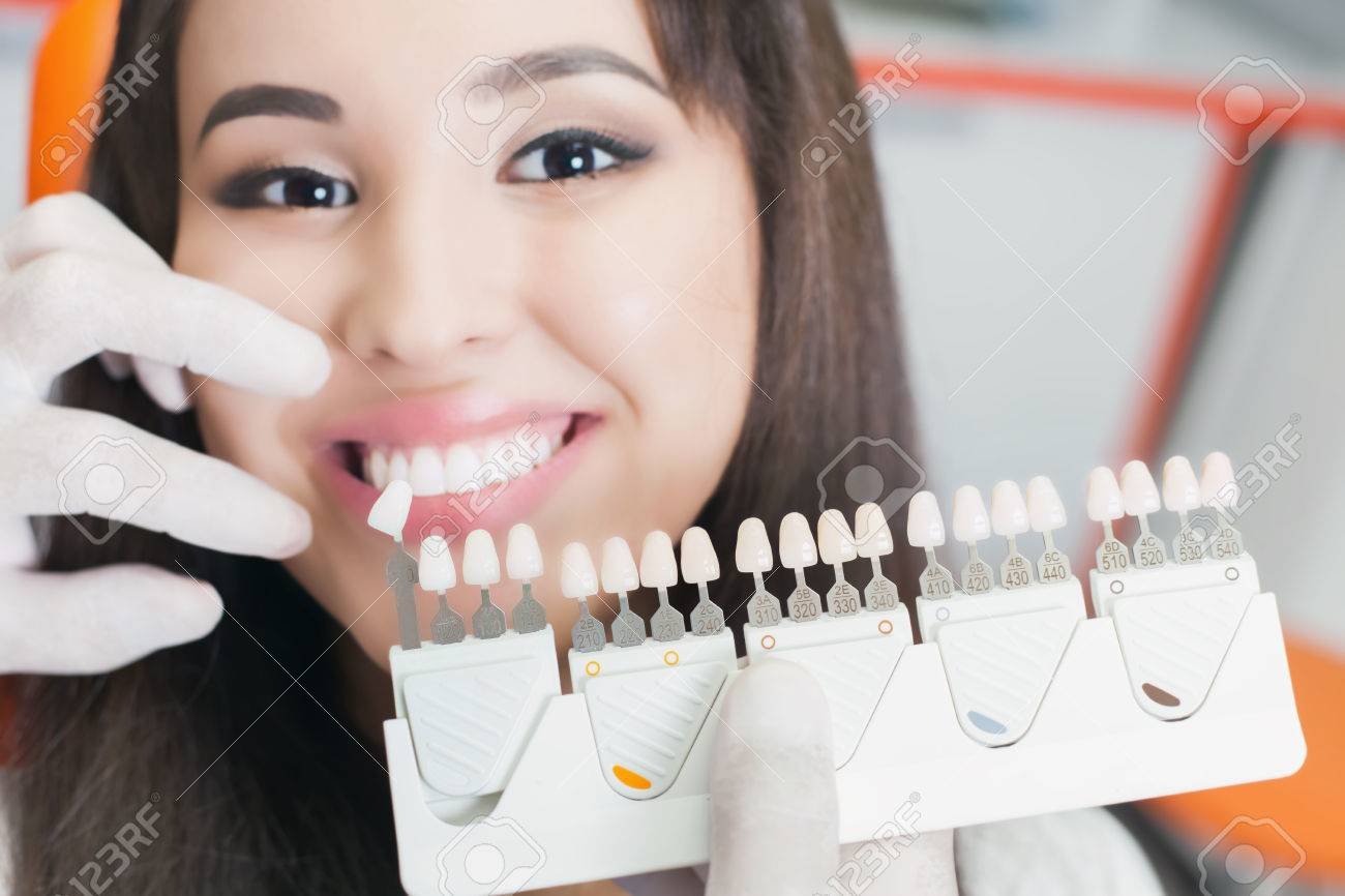 Beautiful asian woman smile with healthy teeth whitening. - 51801817