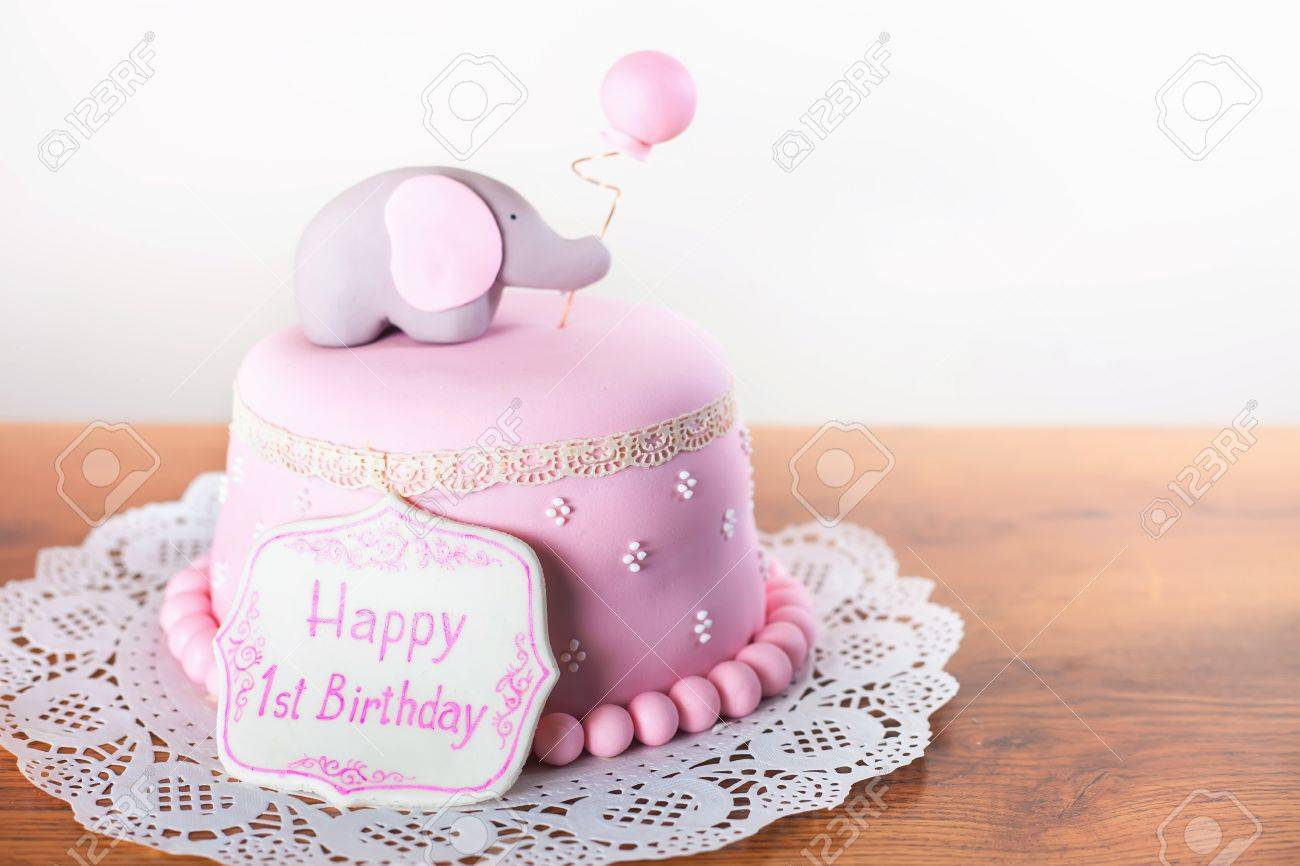 Peachy Celebrating First Birthday Cake Happy 1St Birsday One Year Personalised Birthday Cards Sponlily Jamesorg