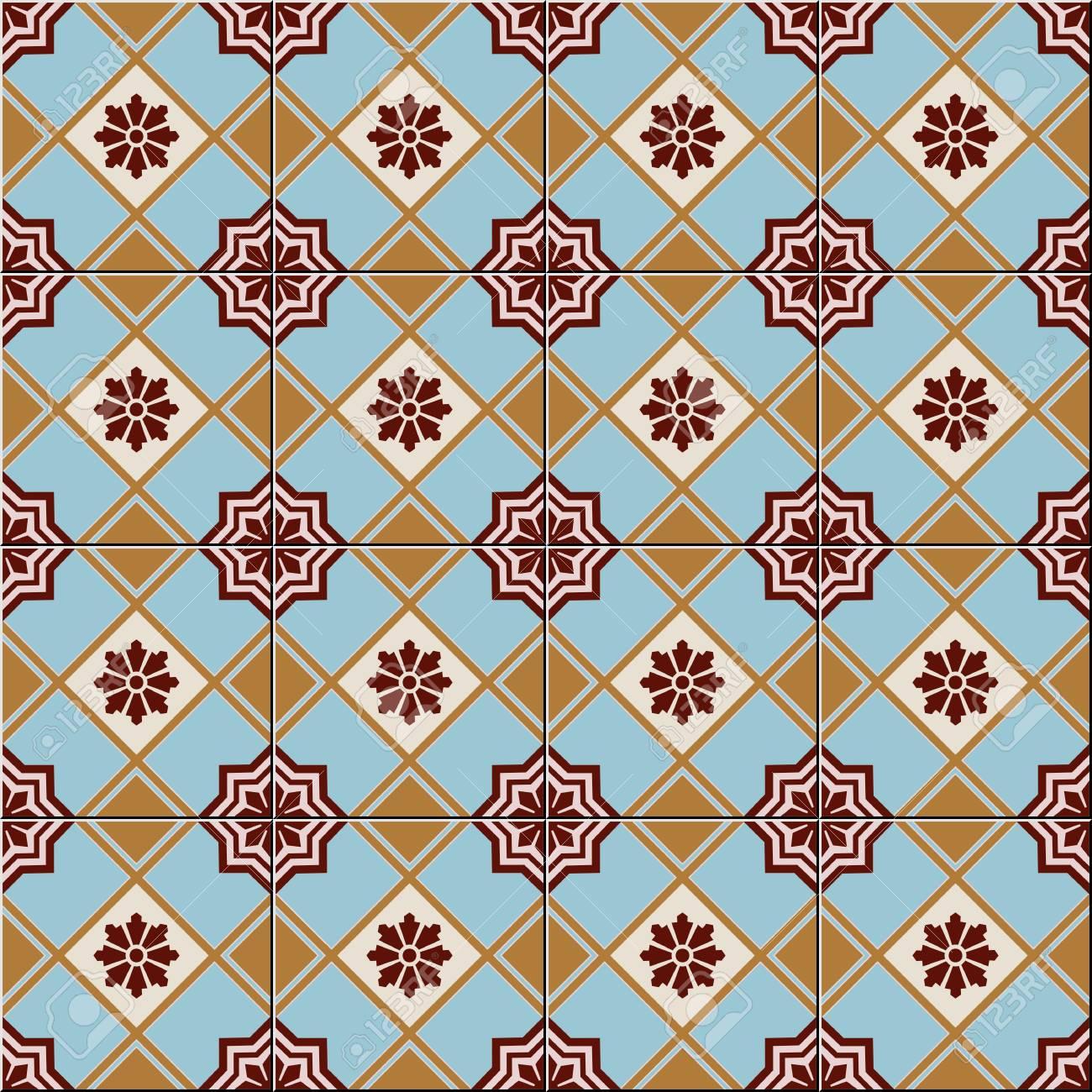 Herrliche Nahtlose Muster Weiß Türkisch Marokkanisch - Tapete portugiesische fliesen