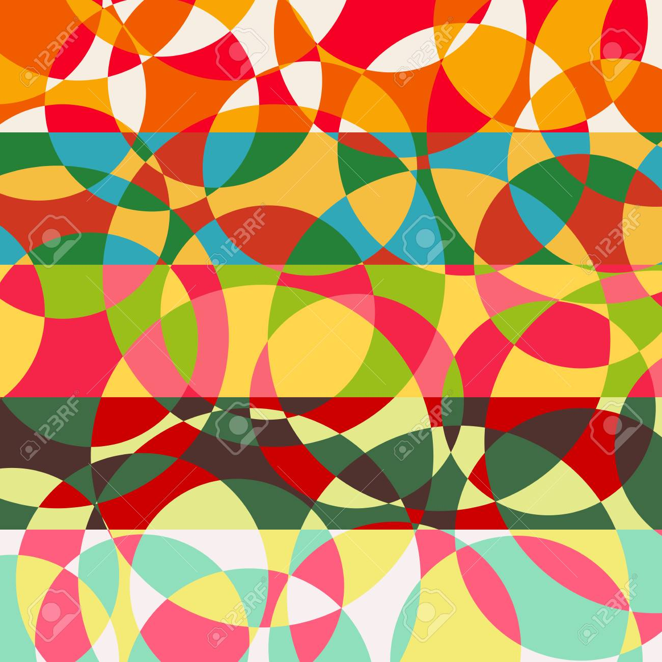 vector background, geometric shapes, modern design in the concept