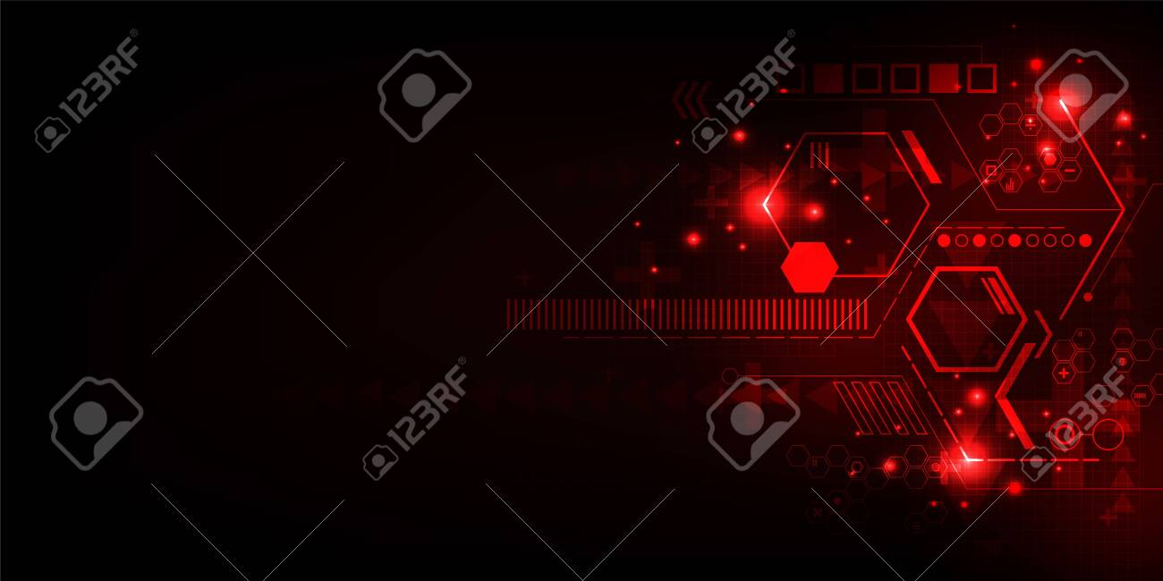 Vector background in the concept of technology. - 127480345