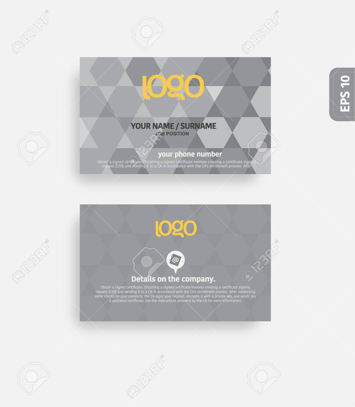 Modern business card template royalty free cliparts vectors and modern business card template stock vector 34411596 reheart Images