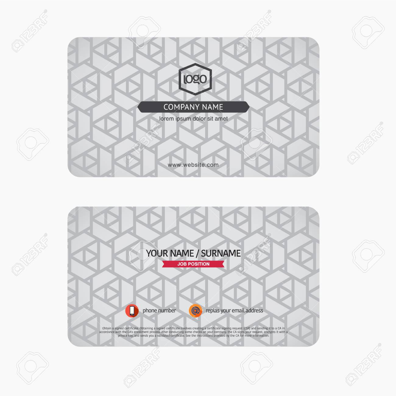 Modern luxury business cards suitable for modern business royalty modern luxury business cards suitable for modern business stock vector 35855739 reheart Images