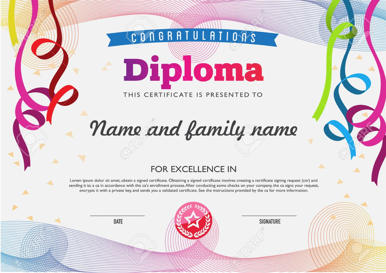 Diploma color full template and chart borders royalty free diploma color full template and chart borders stock vector 42471339 nvjuhfo Gallery