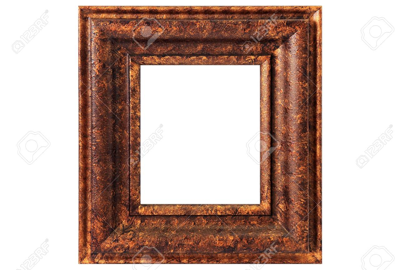 Vintage Copper Picture Frame Stock Photo, Picture And Royalty Free ...