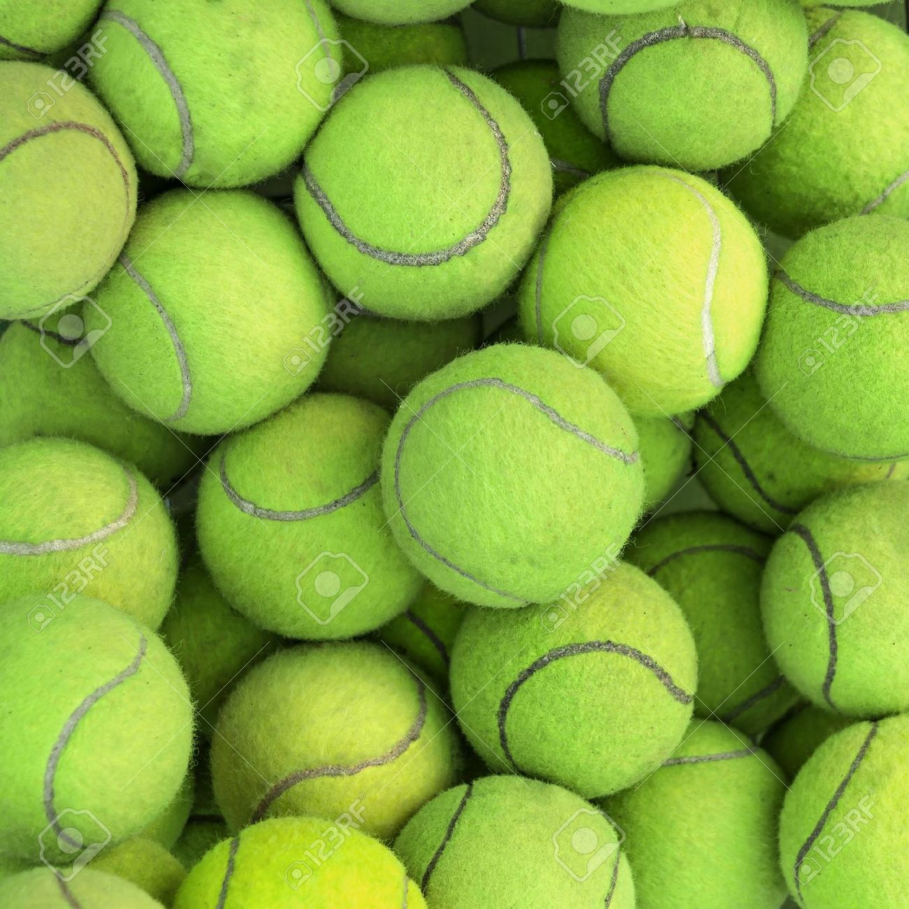 Tennis Balls Background Texture Stock Photo Picture And Royalty