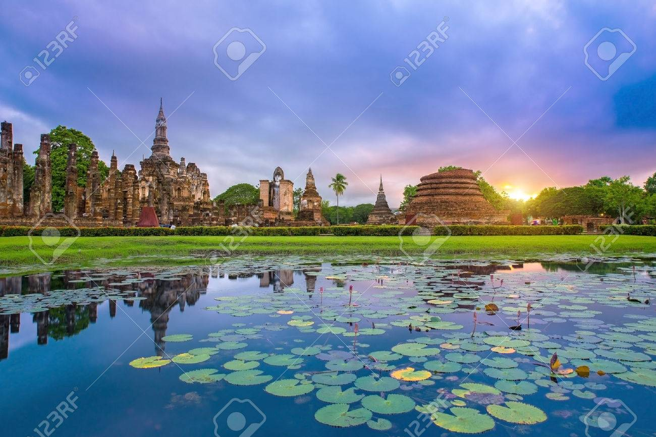 Sukhothai historical park Thailand - 31012018