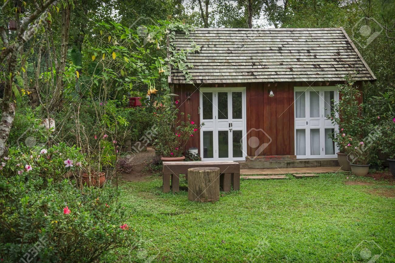 little wooden house - 52457616
