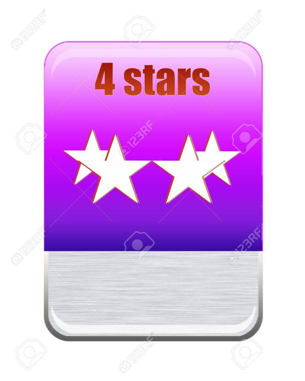 Five stars ratings Stock Photo - 9652597