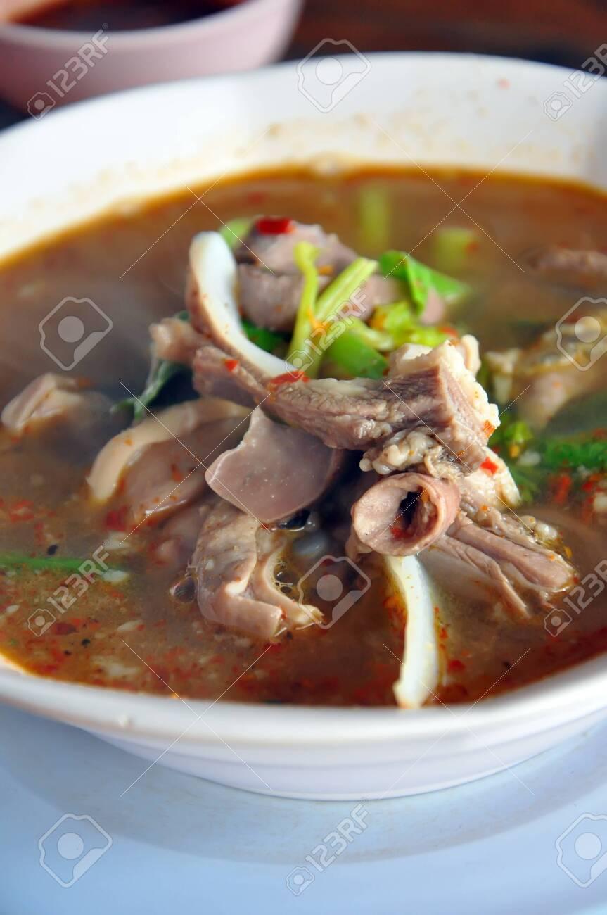 Thai food in restaurant Stock Photo - 9699694