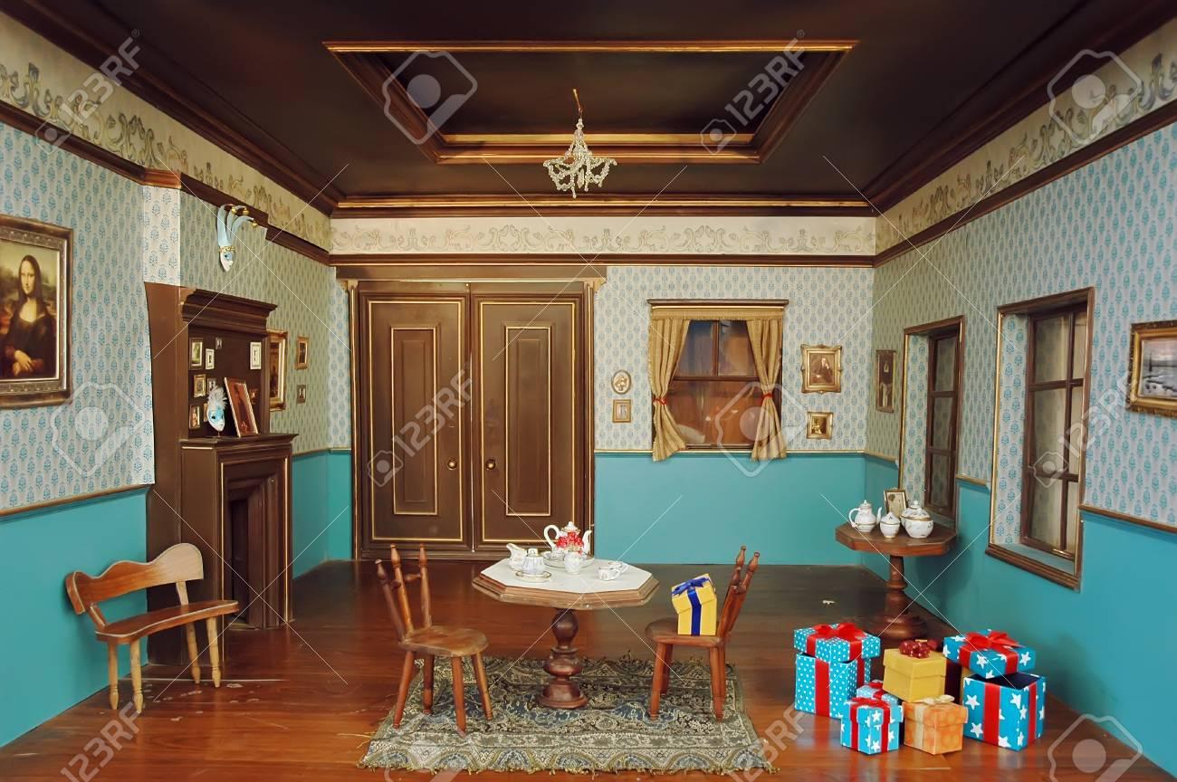 Modern living room interior Stock Photo - 9845208