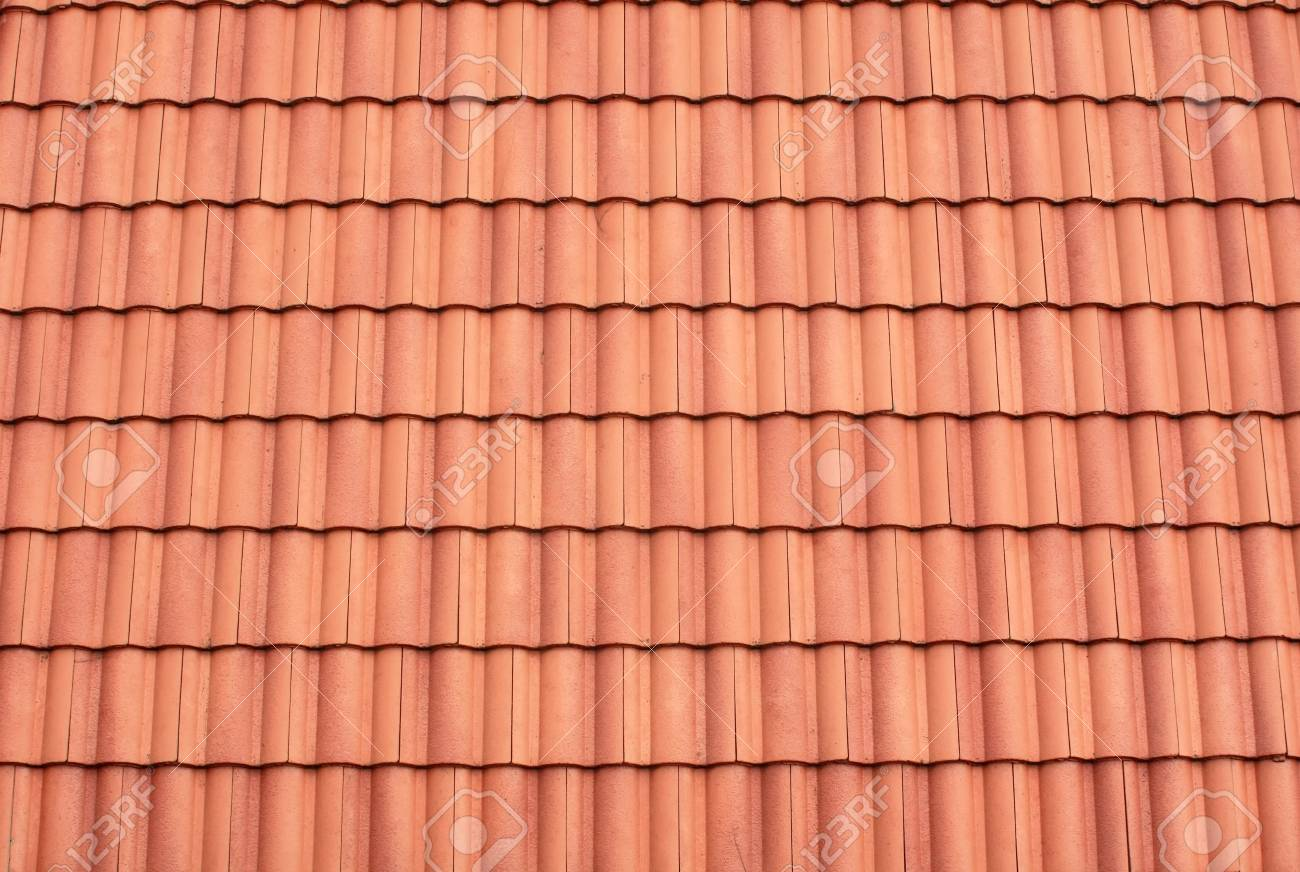 Roof Tile Pattern Stock Photo - 9975307
