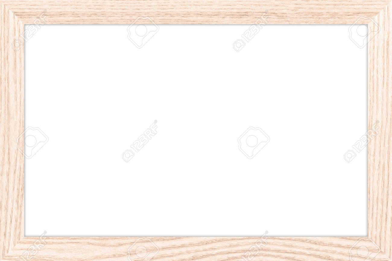 Empty Bulletin Board With A Wooden Frame Whiteboard Texture