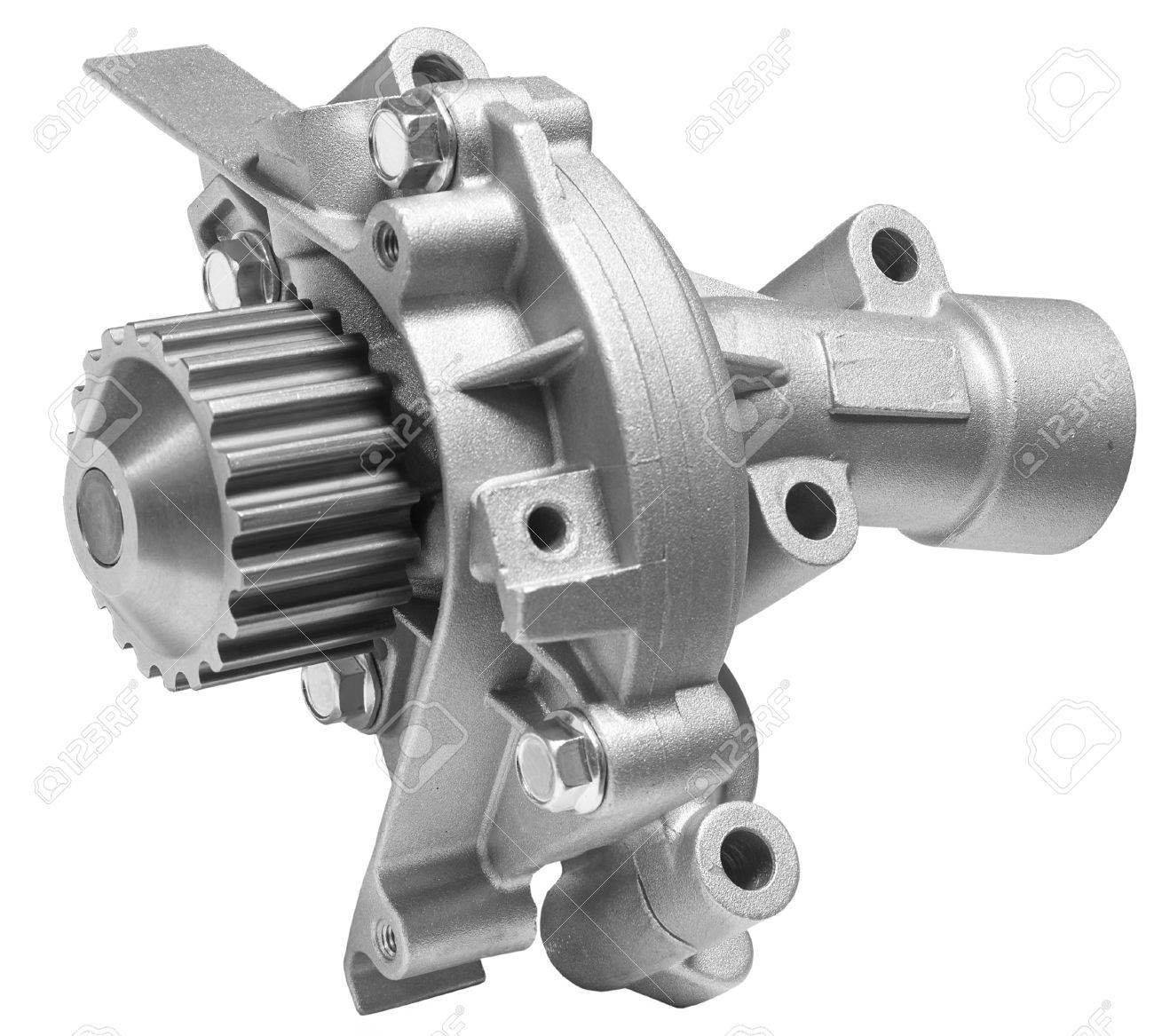Water Pump Car >> Water Pump Of The Cooling System Of The Car On A White Background
