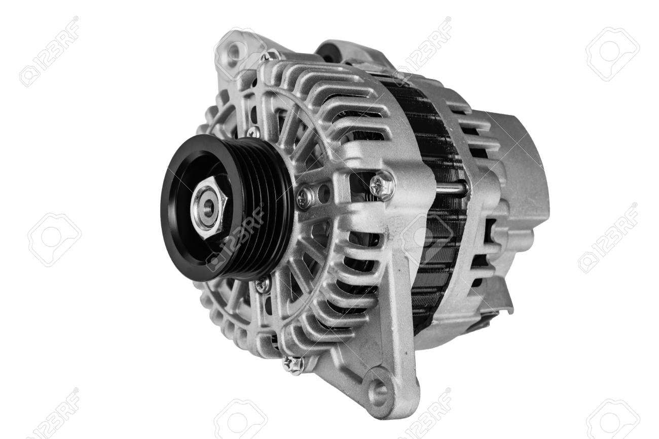 Car Alternator On A White Background Stock Photo Picture And Royalty Free Image Image 103955640