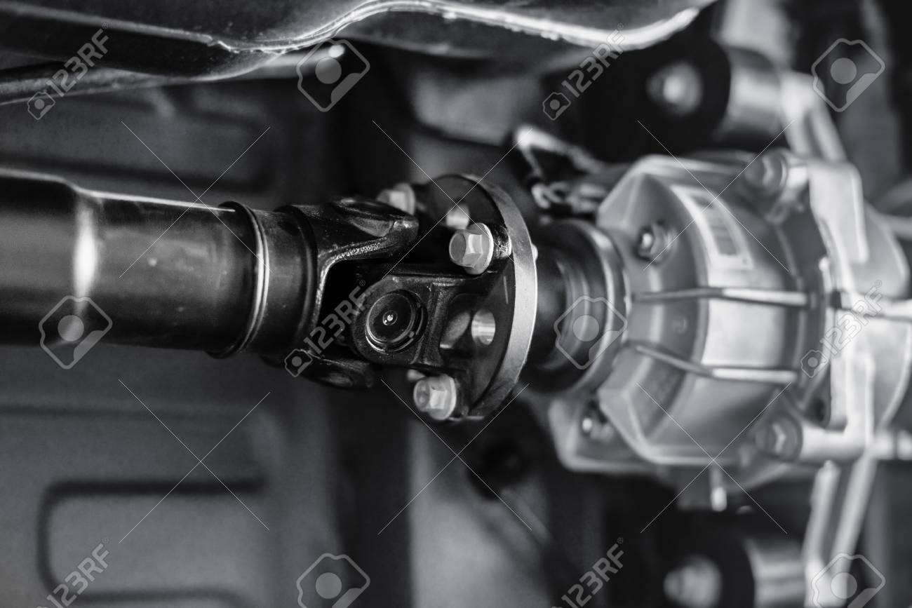 connecting the propeller shaft assy
