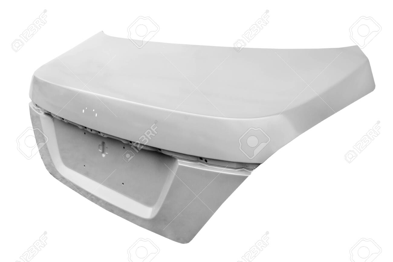 Car Trunk Lid Stock Photo, Picture And Royalty Free Image. Image 131914621.