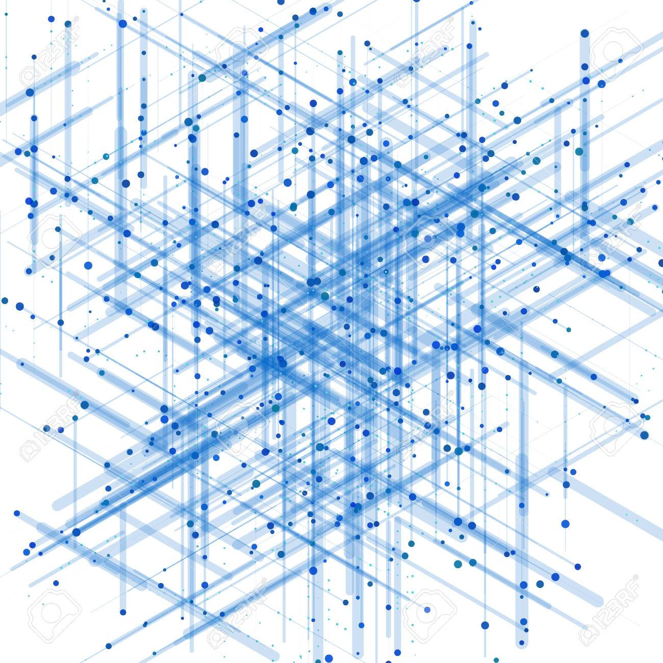 Abstract isometric computer generated 3d blueprint visualization abstract isometric computer generated 3d blueprint visualization lines background vector illustration for break through in malvernweather Gallery
