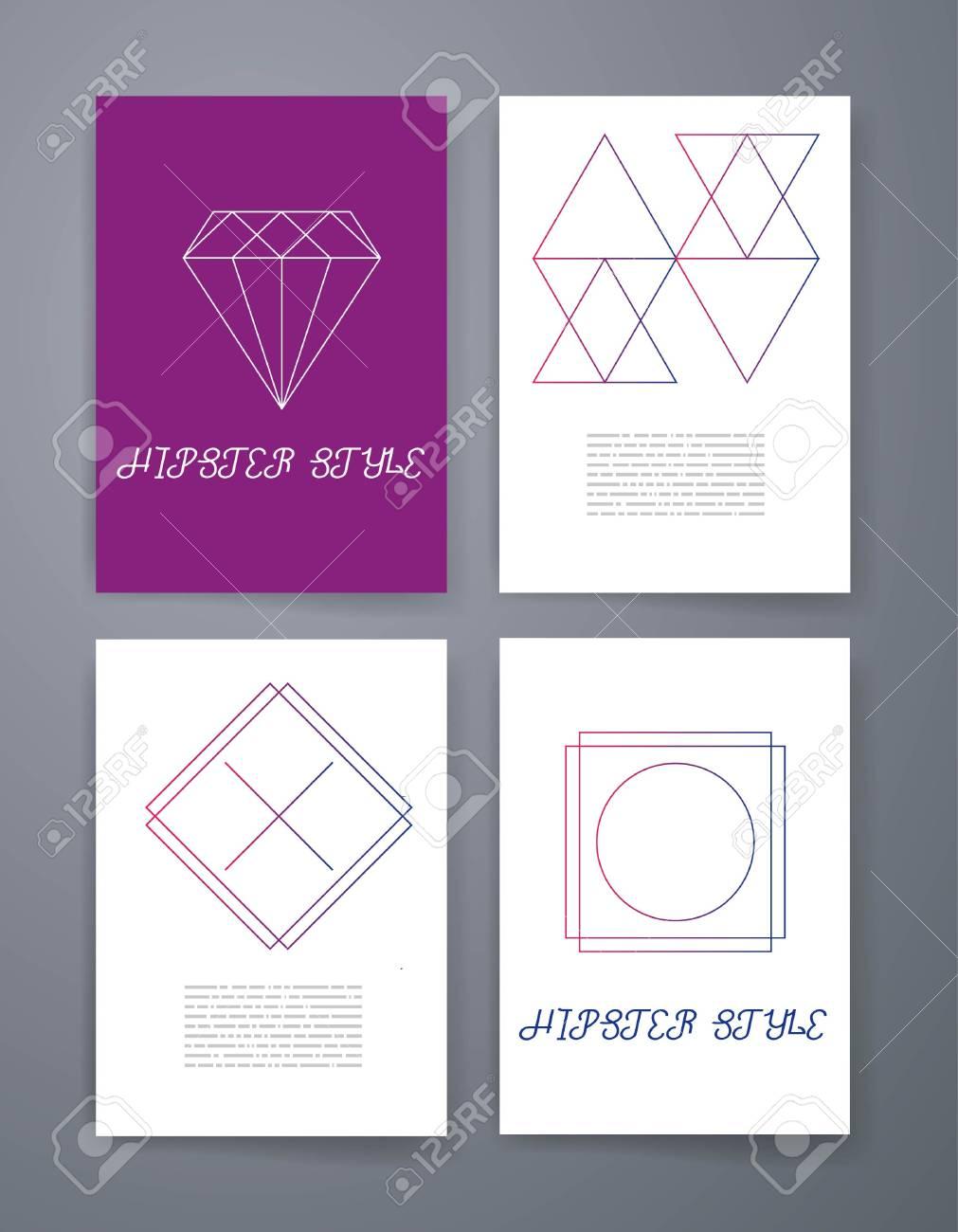 Vector Línea Logotipos E Iconos Elementos De Diseño De Línea Para Invitaciones Y Tarjetas De Felicitación Emblemas E Insignias Del Vector Abstract