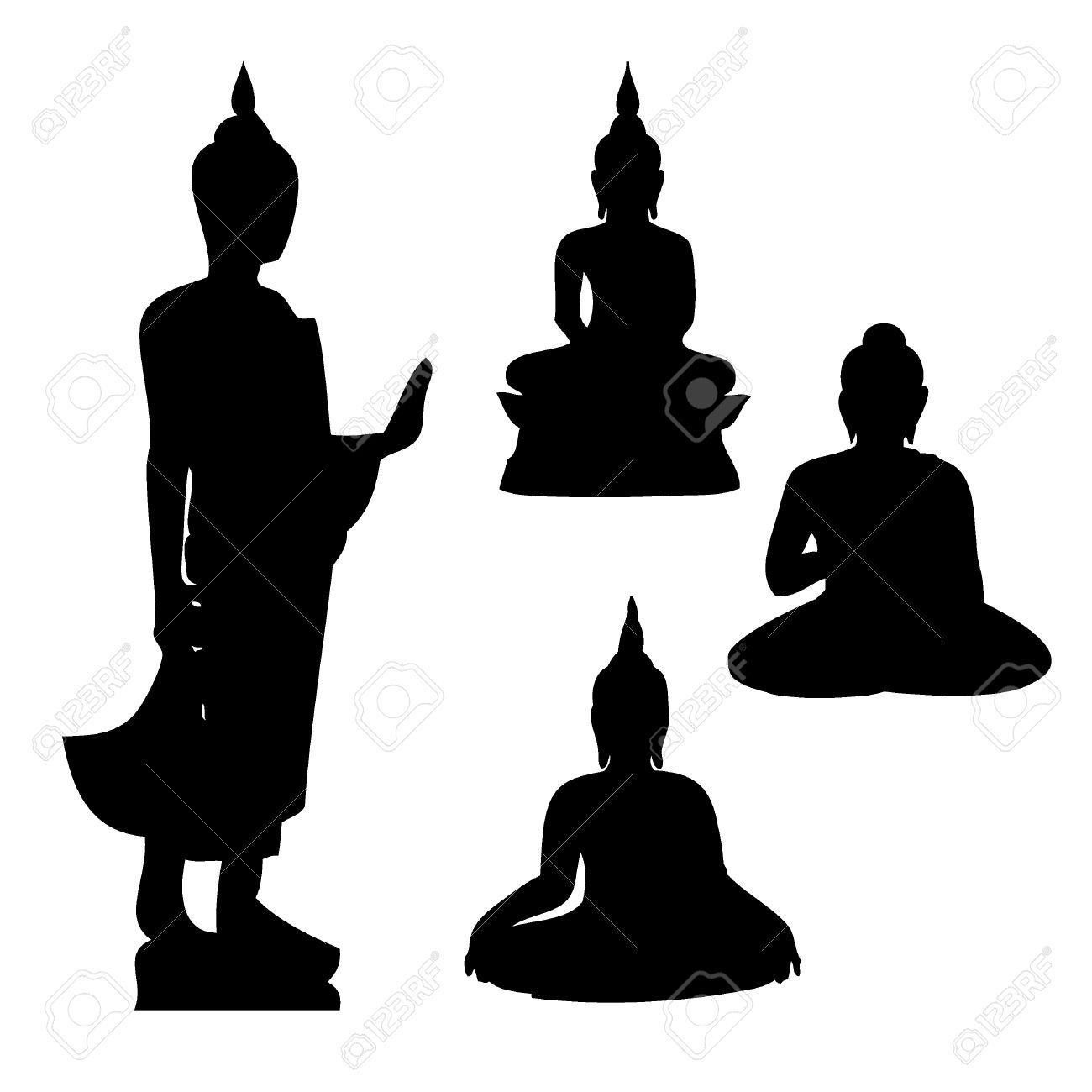 buddha vector royalty free cliparts vectors and stock illustration rh 123rf com buddha vector png buddha vector art